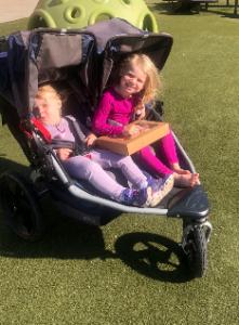 Double stroller run