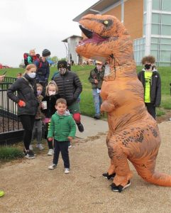 T-Rex and Kids Fun Run