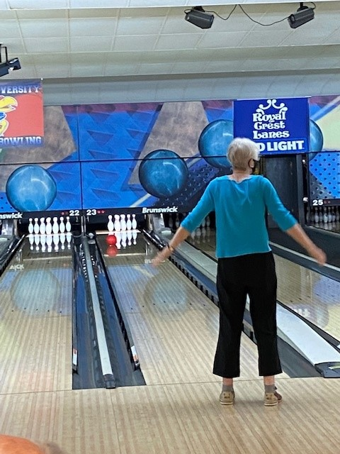 … while Judy wanted her ball to go right!